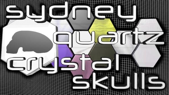 Sydney Quartz Crystal Skulls